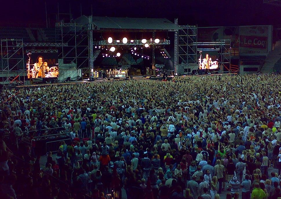 AEROSMITH - WORLD TOUR 2007- A.Le Coq ARENA, Tallinn