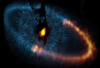 Fomalhaut - Image: ALMA observes a ring around the bright star Fomalhaut
