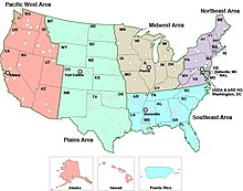 List Of Regions Of The United States Wikipedia