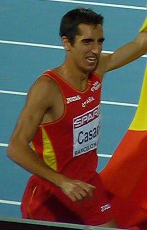 Arturo Casado - Casado in the 2010 European Athletics Championships.