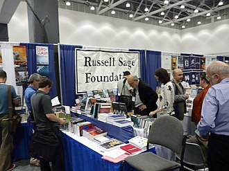 Russell Sage Foundation - 2008 conference booth