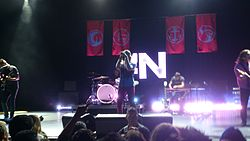 AWOLNATION in performance (Los Angeles, 2012).jpg