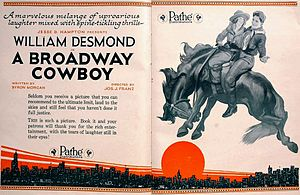 Betty Francisco - Image: A Broadway Cowboy (1920) Ad 2