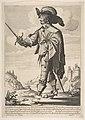 A Frenchman, Sword in Hand MET DP818281.jpg