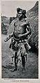 A Niam-Niam medicine man or shaman, equatorial Africa. Halft Wellcome V0015946EL.jpg