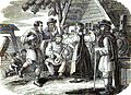 A Rural Scene in Russia, Dancing, &c. Robert Lyall. Travels in Russia, The Krimea, The Caucasus, and Georgia. 1825. Chap. XXI. P.285.jpg
