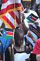 A South Sudanese girl at independence festivities (5926735764).jpg