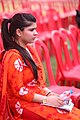 A Very Beautifu Teacher Siting On The Chair During 1st Annual Convocation at Punajb University Constitute College Patto Hira Singh Moga Punjab India.jpg