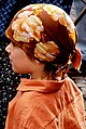 A little girl wears a bandanna.jpg