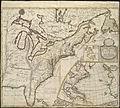 A new map of the English empire in America viz. Virginia, Maryland, Carolina, Pennsylvania, New York, New Iarsey, New England, Newfoundland, New France &c. (4071882051).jpg