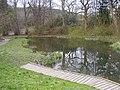 A pond in Gala - geograph.org.uk - 772402.jpg