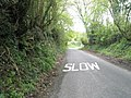 A sign I was only too happy to obey - geograph.org.uk - 788310.jpg