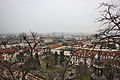 A view of Malá Strana and beyond from Prague Castle on an overcast day, 2014-03-06.jpg