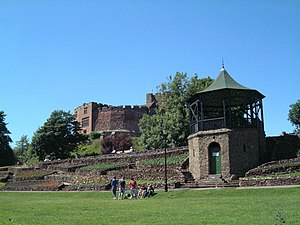 Tamworth, Staffordshire - Image: A view of the Castle Grounds (29) geograph.org.uk 872537