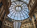A view of the shops and coffeehouses in the Galleria Vittorio Emanuele II (02).jpg
