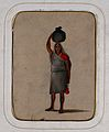 A woman with a Vishnu mark carrying a cloth bundle Wellcome V0046133ER.jpg