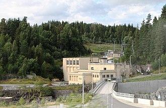 Åmot, Buskerud - Embretsfoss kraftverk