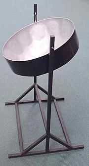 A tenor pan from Tobago