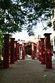 Aatchala Bari Pillars - Sabarna Roy Choudhury Estate - Barisha - Kolkata 2012-10-23 1122.jpg