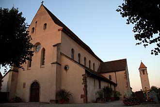 St Trophimus' Church, Eschau - Image: Abbatiale Sainte Trophime d'Eschau (1)