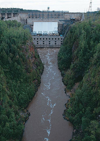 Ontario Hydro - Abitibi Canyon Generating Station
