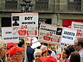 Abortion protest - Barcelona, Spain (8133570450).jpg