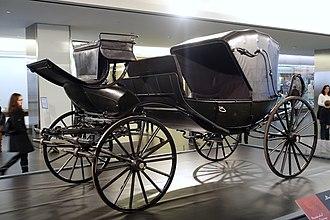 Barouche - President Lincoln's barouche