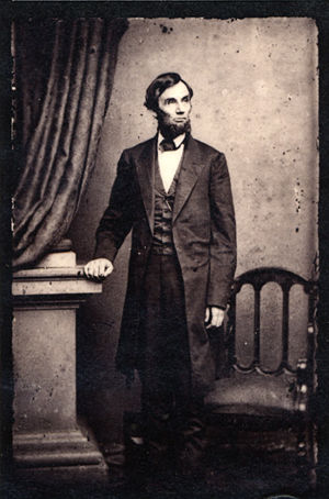 President Abraham Lincoln in 1863.