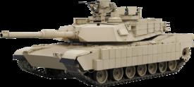دبــابات القتــال الرئيسيــه فى الجيــوش العربيه  - صفحة 4 275px-Abrams-transparent