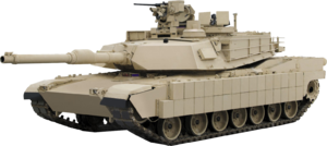 Vehicle armour - The U.S. Army's M1 Abrams MBT  with TUSK upgrade uses composite, reactive and slat armour