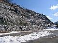 Abukuma limestone bluff.JPG