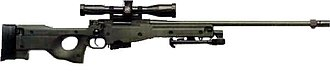 Accuracy International Arctic Warfare - Image: Accuracy International Arctic Warfare Psg 90