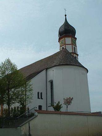 Achstetten - Parish church St Oswald and Agatha