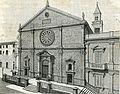 Acquaviva delle Fonti facciata della cattedrale xilografia di Barberis 1898.jpg