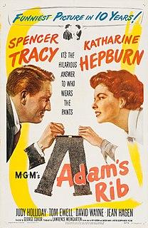 <i>Adams Rib</i> 1949 film by George Cukor
