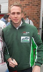Adam Carroll na torze Brands Hatch (2007)