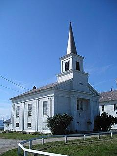 Addison Baptist Church United States historic place