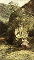 Adolphe Joseph Thomas Monticelli - Figuren bij een fontein.jpg
