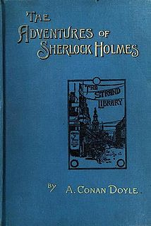 <i>The Adventures of Sherlock Holmes</i> Collection of short stories by Arthur Conan Doyle