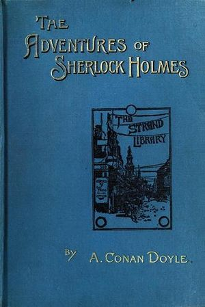 Cover of The Adventures of Sherlock Holmes, by...