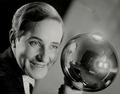 Aenne Biermann. Self-Portrait with Silver Ball. 1931.png