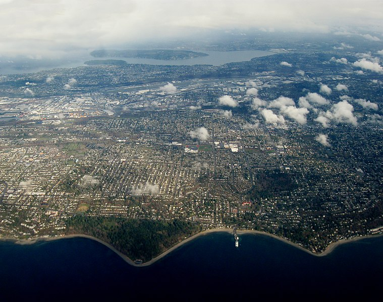 File:Aerial view of Lincoln Park and Fauntleroy.jpg