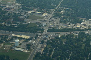 Raytown, Missouri - Aerial view of Raytown