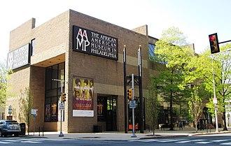 African American Museum in Philadelphia - Image: African American Museum in Philadelphia