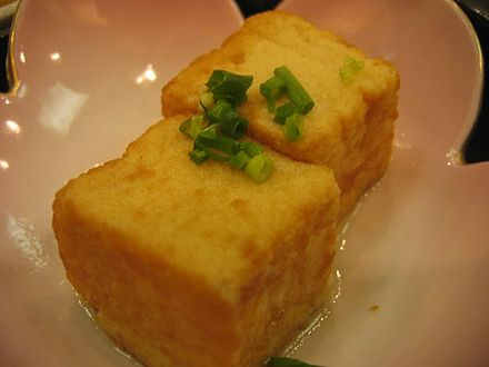 Tofu can be used as an egg replacement Agedashi dofu by fabichan.jpg