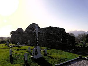 Aghadoe Cathedral - Remains of Aghadoe Cathedral