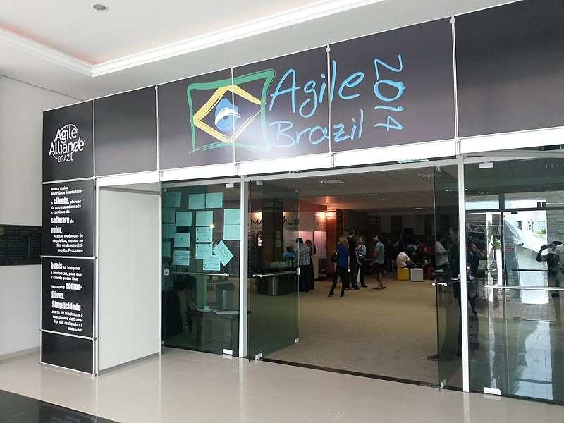 File:Agile Brazil 2014 conference entrance.jpg