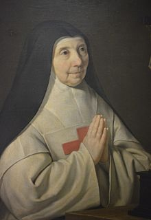 French Cistercian abbess