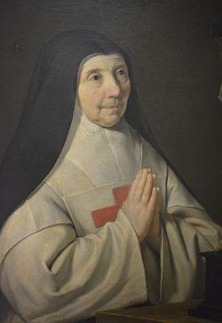 Agnès Arnauld abbesse of Port Royal des Champs.JPG