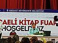Ahmet Umit at Kocaeli Book Exhibition, May 2016.jpg